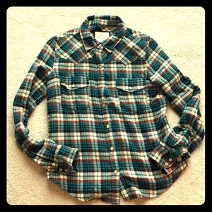 💥SALE💥 Cozy Western Flannel Button Down